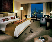 Four Seasons Hotel Hong Kong-spacious guest rooms; suites with separate bedroom areas