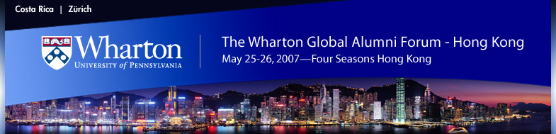 Biography of Kyle Shaw : The Wharton Global Alumni Forum-Hong Kong
